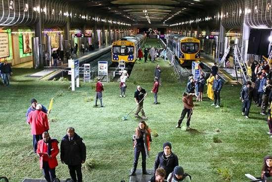 Green Urban Installations: New Zealand's Britomart Station ...
