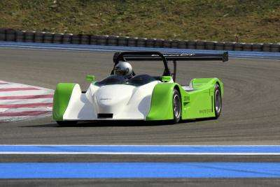 greengt electric race car