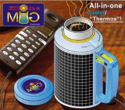Multi Talented Thermoses Greentek Solar Mug