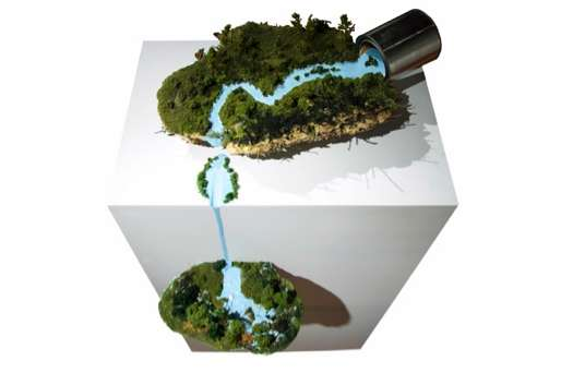 Dripping Organic Dioramas