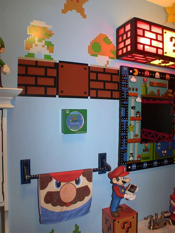 Ludicrous Retro Gaming Lavatories