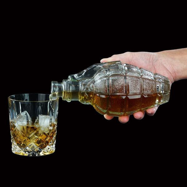 Explosive Military Liquor Decanters