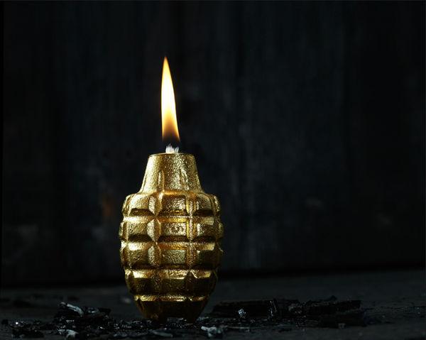 Explosive Ornamental Grenade Lamps