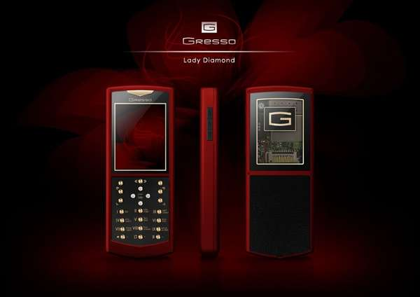Jewel-Studded Cell Phones
