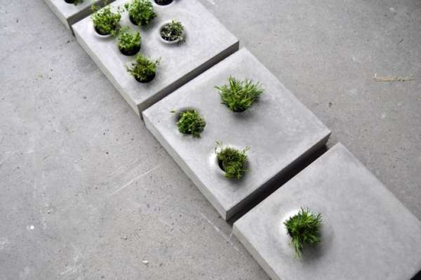 Planter-Inspired Sidewalks