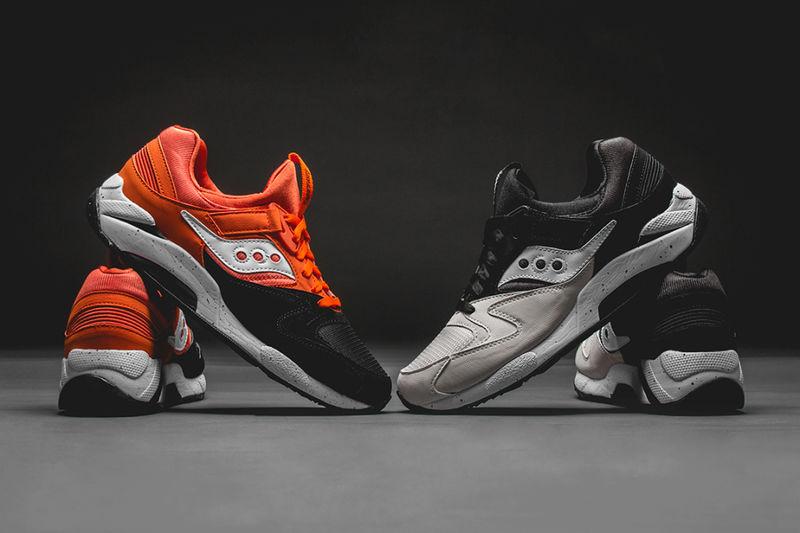 Spooky Orange Sneakers