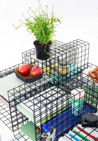 Reconfigurable See-Through Desks