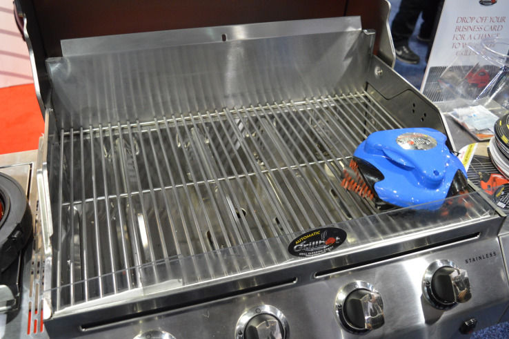 Grill-Cleaning Robots