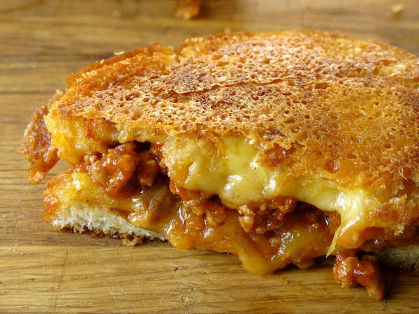 'Grilled Cheese Social' creation