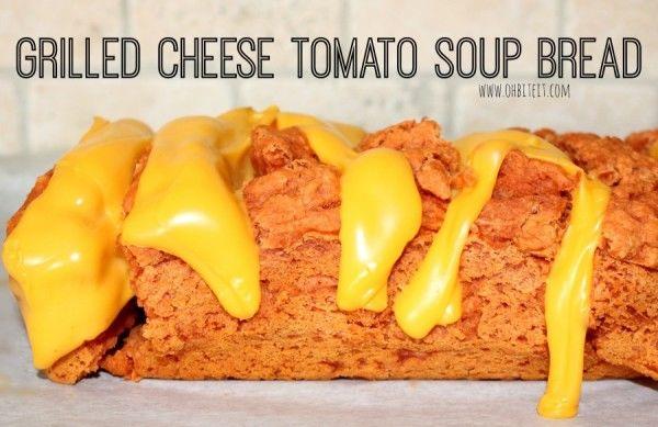 Cheesy Tomato Soup Loaves