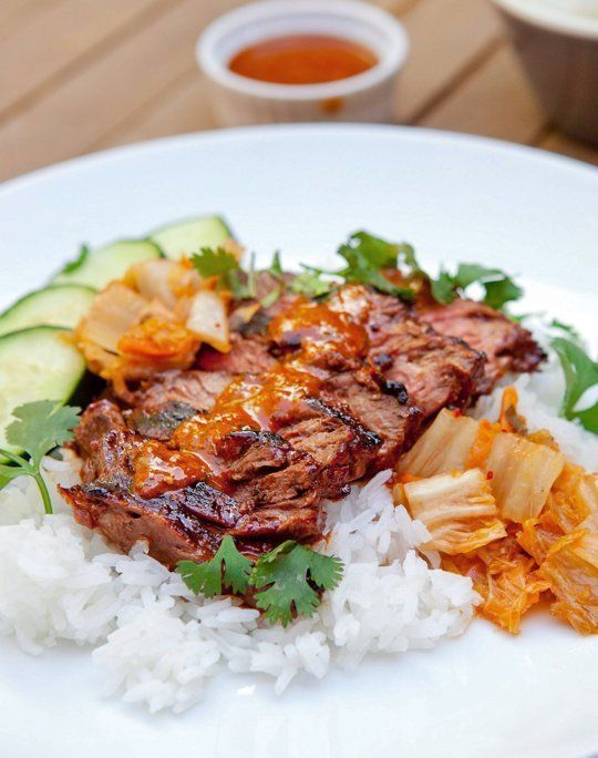 Bulgogi-Style Grilled Steaks