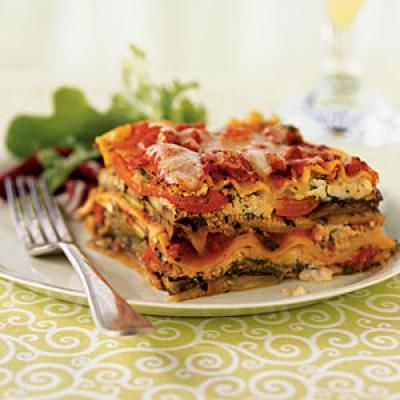 Grilled Vegetable Lasagnas