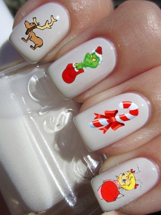 Nostalgic Christmas Story Manicures