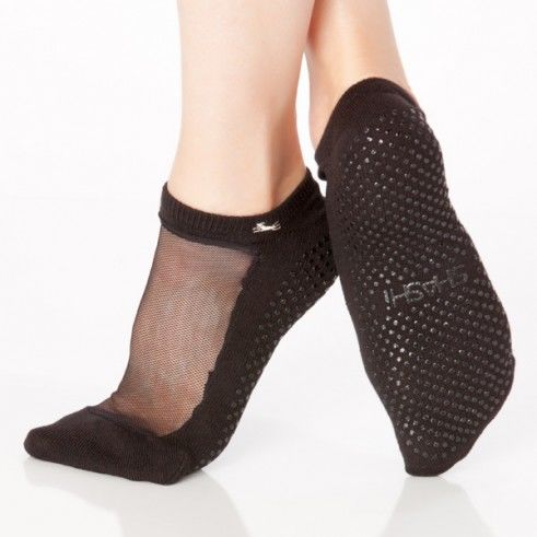 Cut-Out Pilates Socks