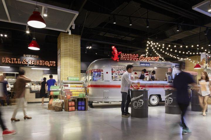 Market-Inspired Food Halls