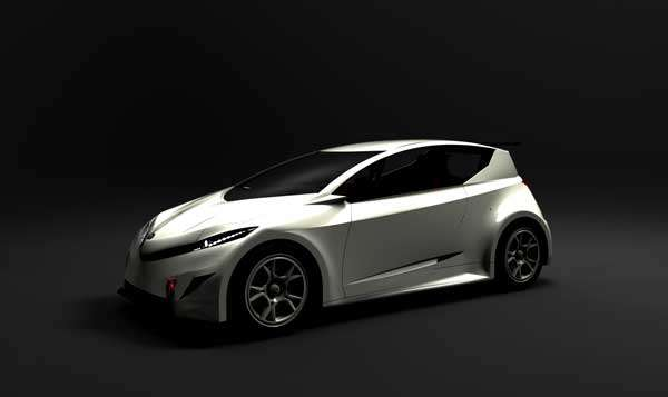 Futuristic Eco-Hatchback Concepts