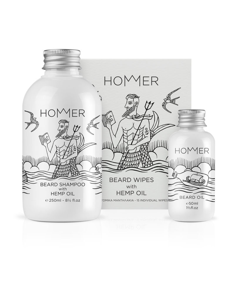 Illustrated Grooming Products