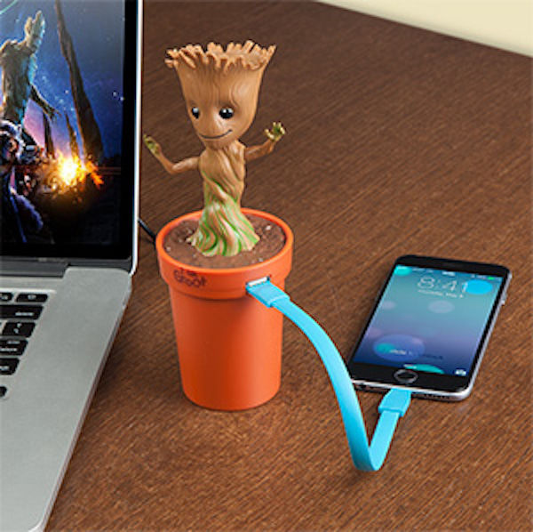 Movie-Themed Tree Chargers