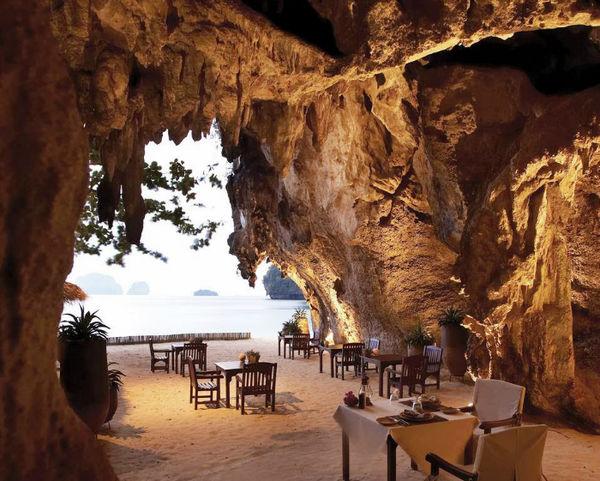 Beachside Cavernous Dining