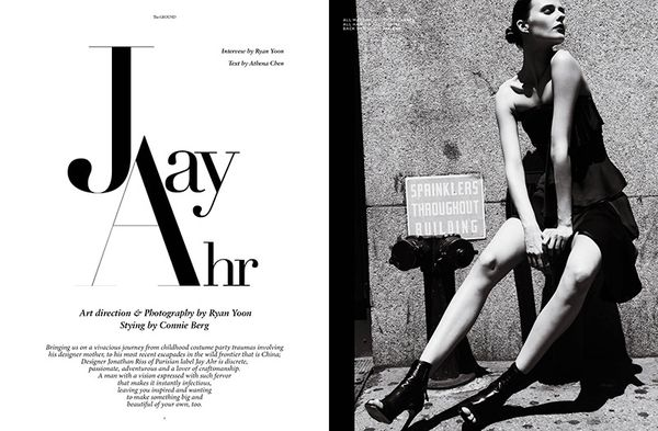 Edgy Parisian Editorials