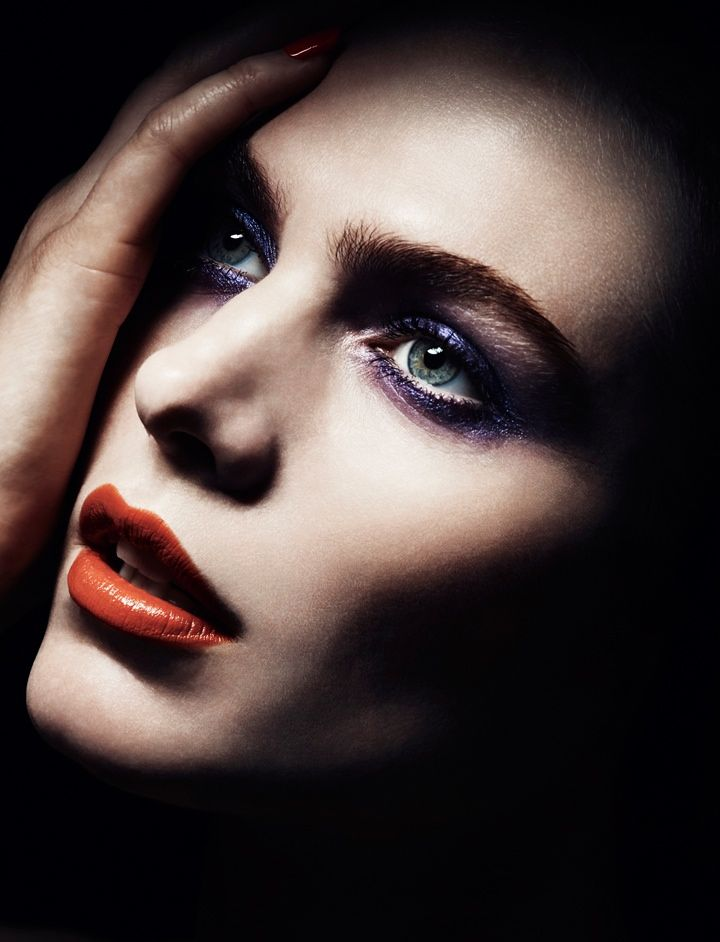Shadowy Beauty Editorials