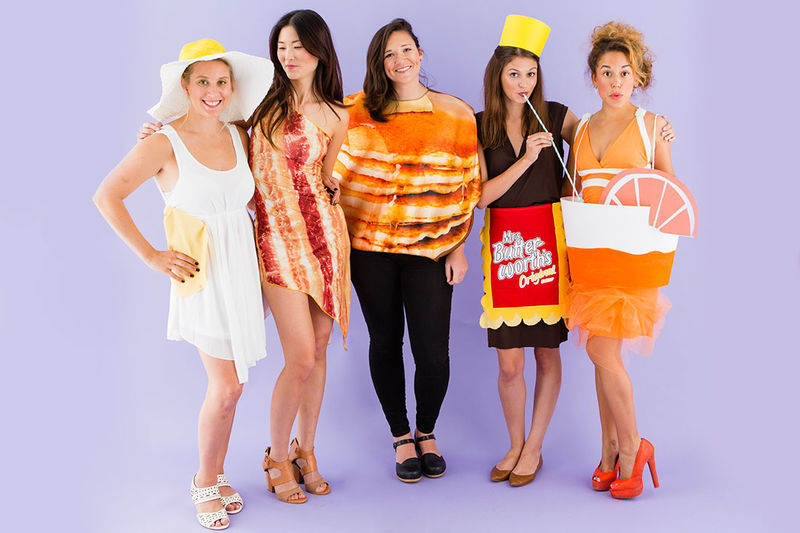 Brunch Food Costumes
