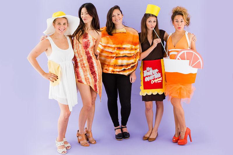 Brunch Food Costumes