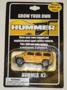 Grow Your Own Hummer