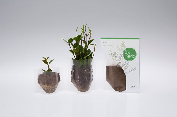 Instant Herb Garden Packaging