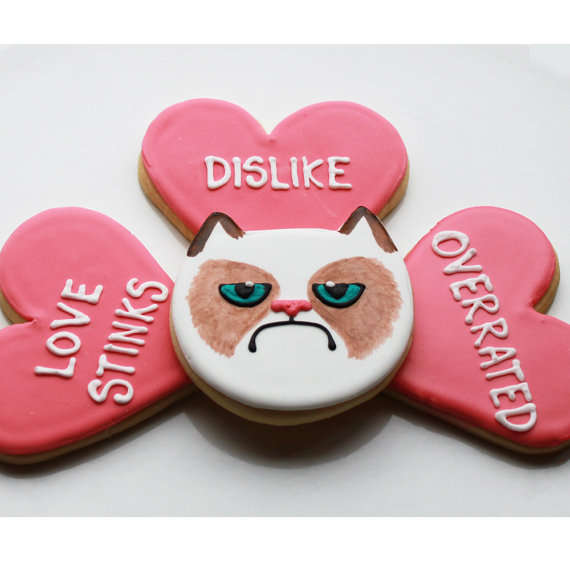 Grumpy Cat Cookies by Whipped Bake Shop
