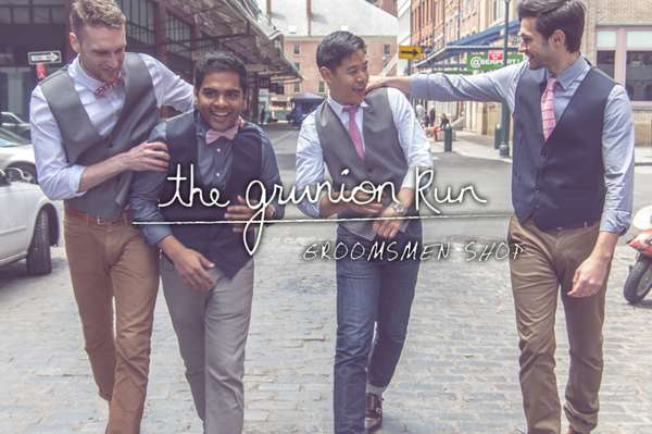 Online Groomsmen Shops
