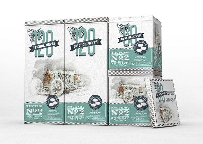 Retro Racecar Mint Packaging
