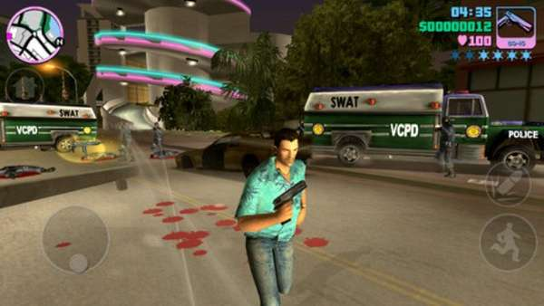 Car-Jacking Mobile Games
