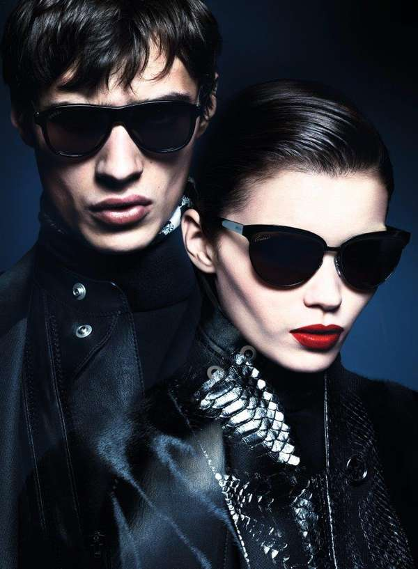 Sleek Spy-Inspired Fashion