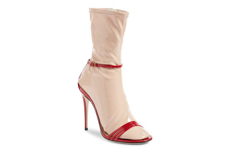Latex Sock Stilettos