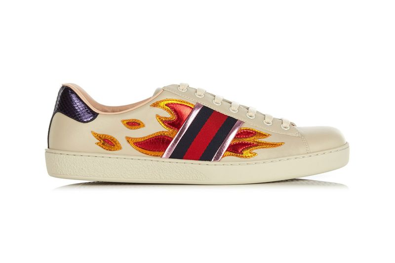 Luxe Flame Sneakers
