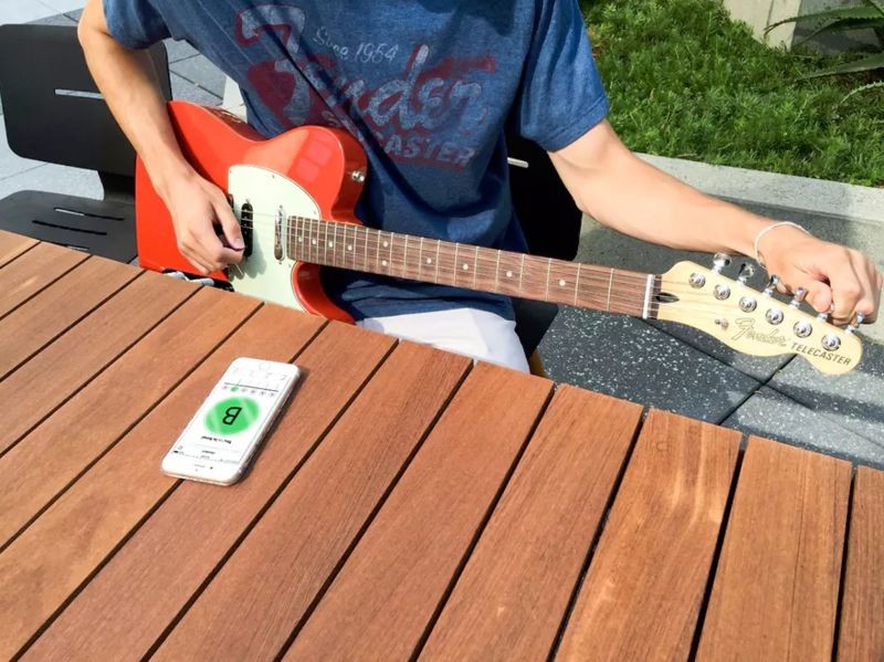 Guitar-Tuning Apps