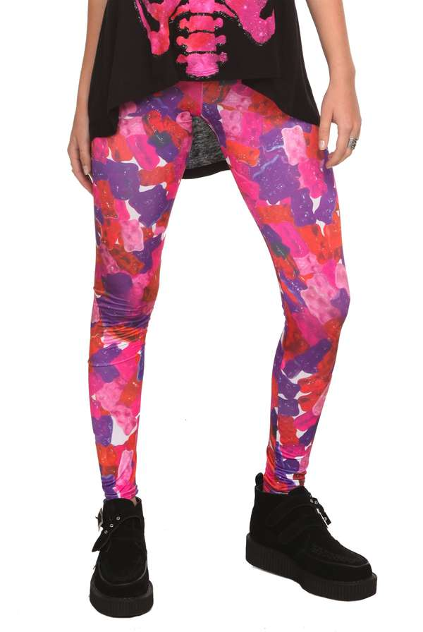Colorfully Gelatinous Tights