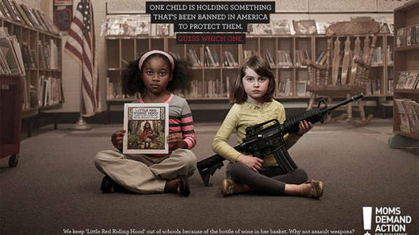 gun control, advertisement, children
