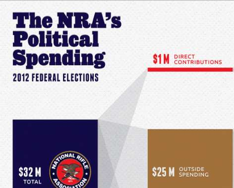 Gun Control Lobbying Infographics