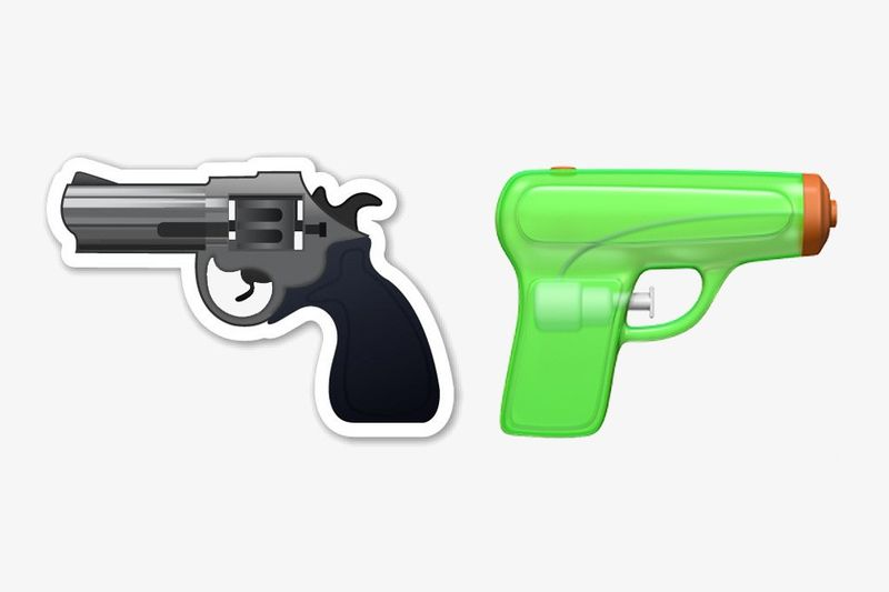 Replaced Gun Emojis