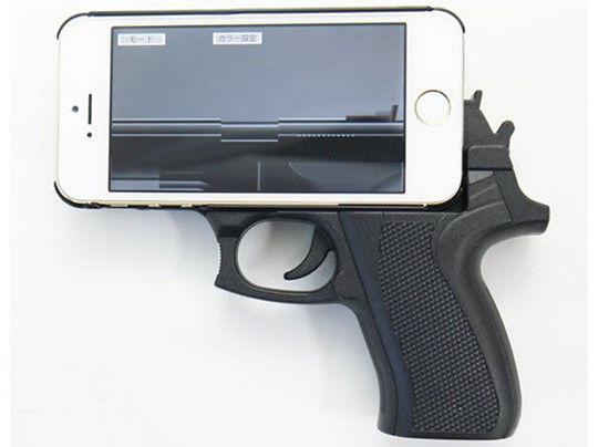 Pistol Grip Phone Cases