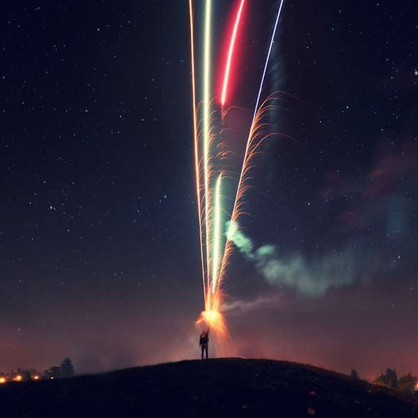 Epic Fireworks Photography