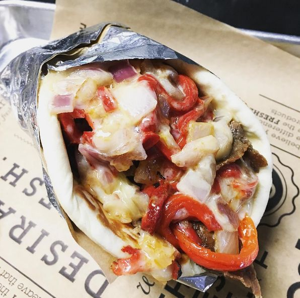 Cheesesteak-Infused Gyros