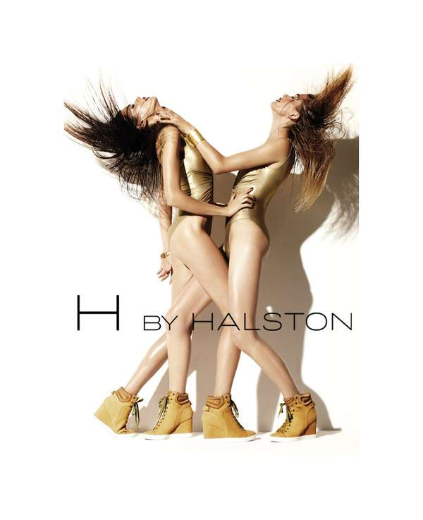 H by Halston Athletics 2011 Campaign