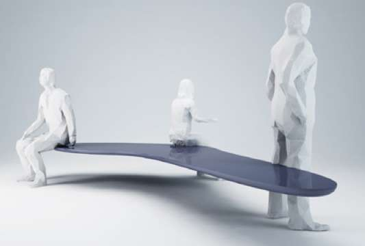 Levitating Sculptural Seats