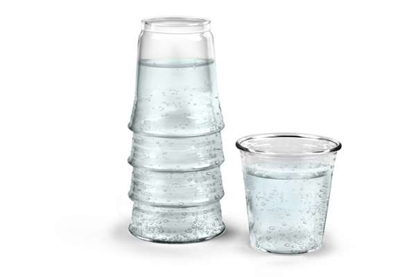 Deceptively Stacked Decanters