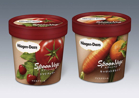 Vegetable-Flavored Ice Creams