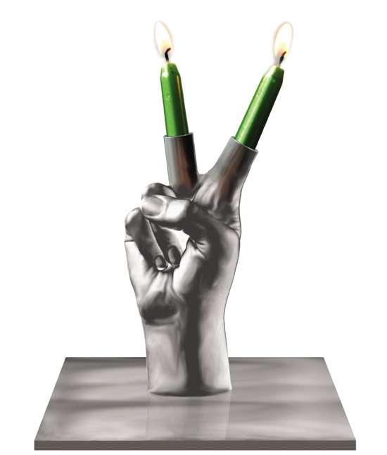 Firey Hand Art