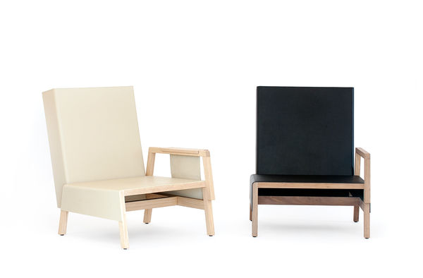 Sleek Asymmetrical Seating